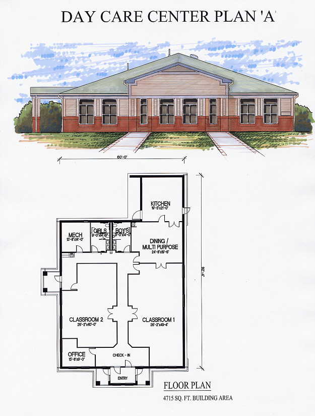Day Care Center Plan A